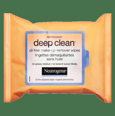 Lingettes démaquillantes sans huile NEUTROGENA DEEP CLEAN®