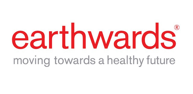 Logo Earthwards® en rouge