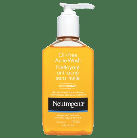 Nettoyant antiacné sans huile NEUTROGENA®