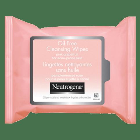 Lingettes nettoyantes sans huile au pamplemousse rose NEUTROGENA®