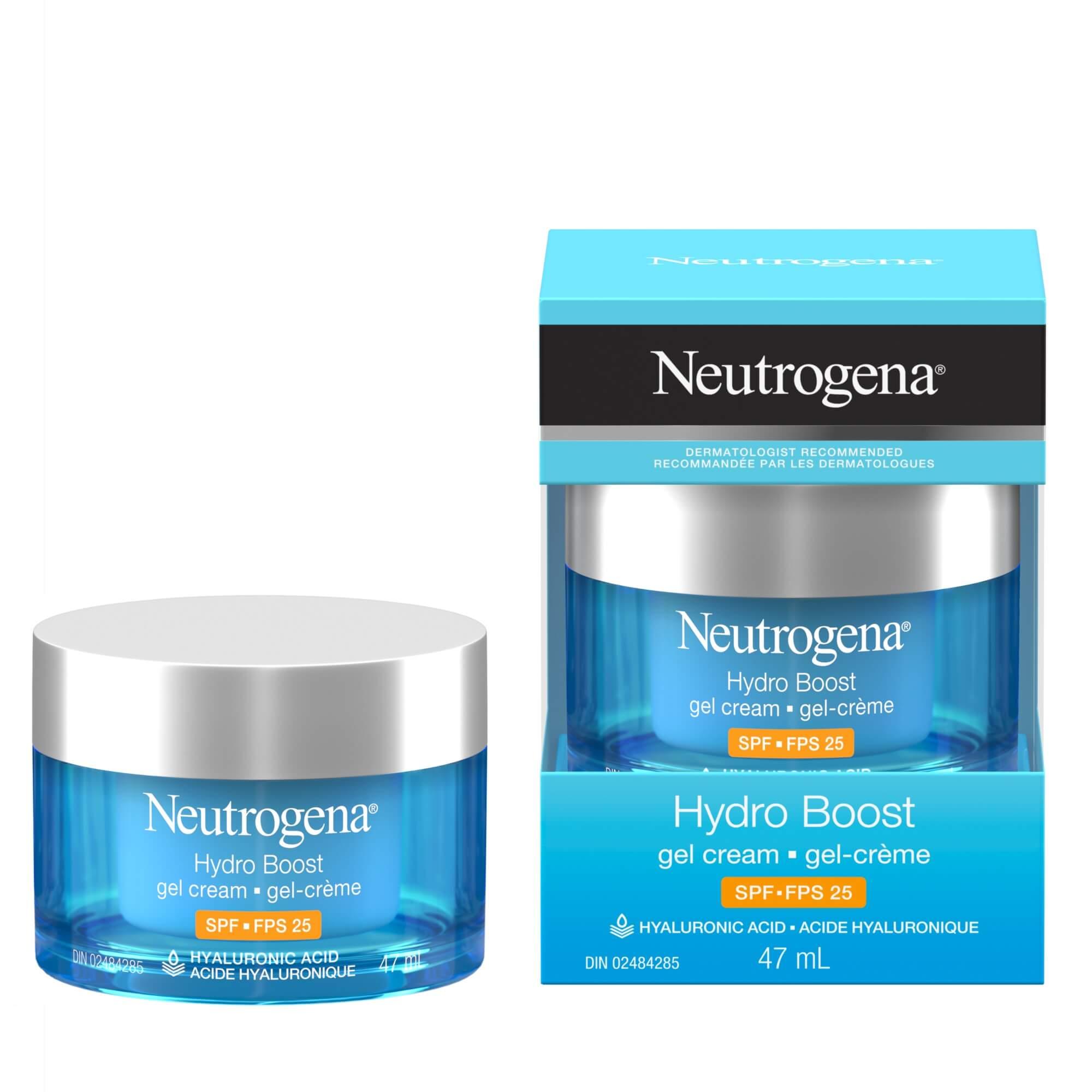Gel-crème Neutrogena® Hydro Boost FPS 25, 47 ml