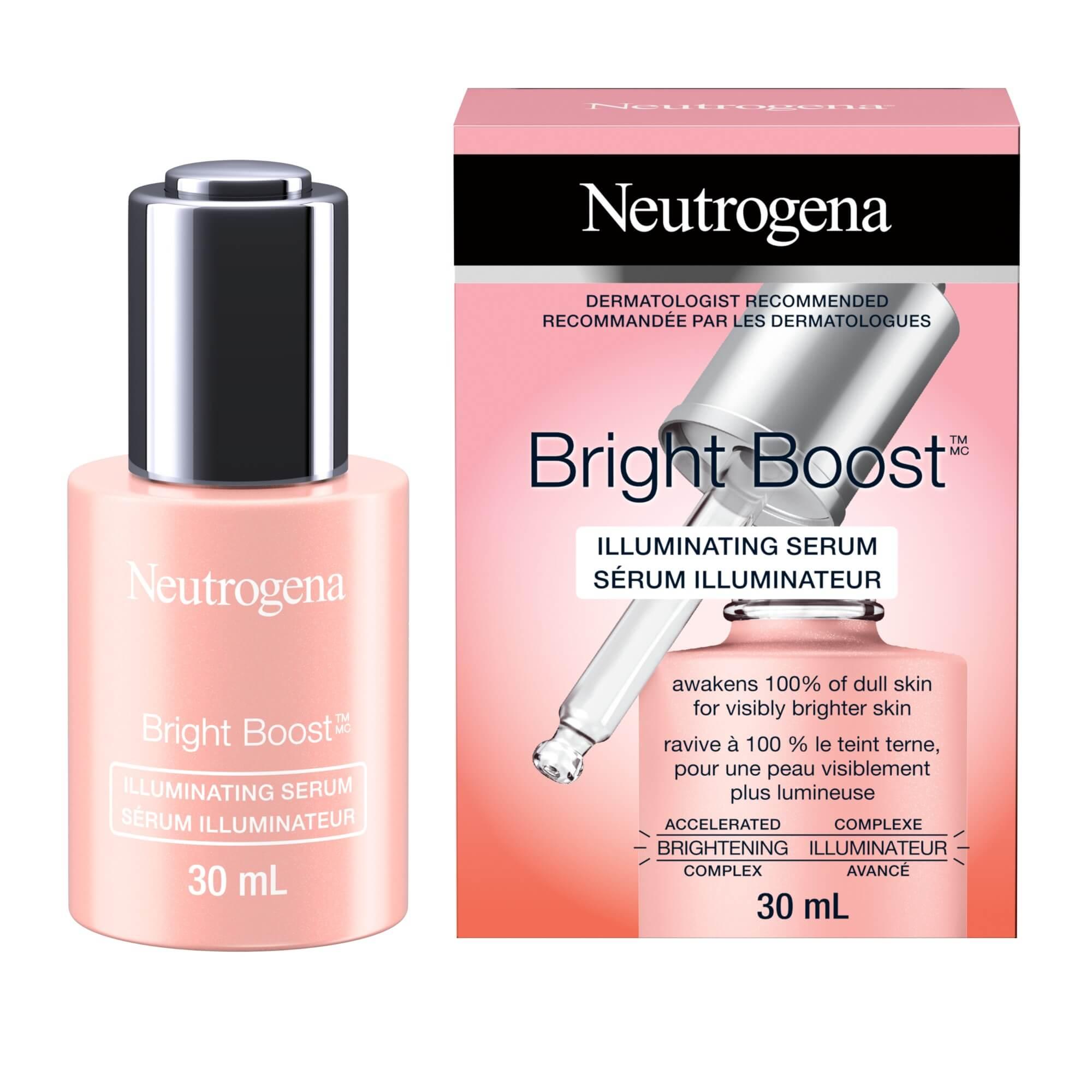 Sérum illuminateur Neutrogena Bright BoostMC, 30 ml
