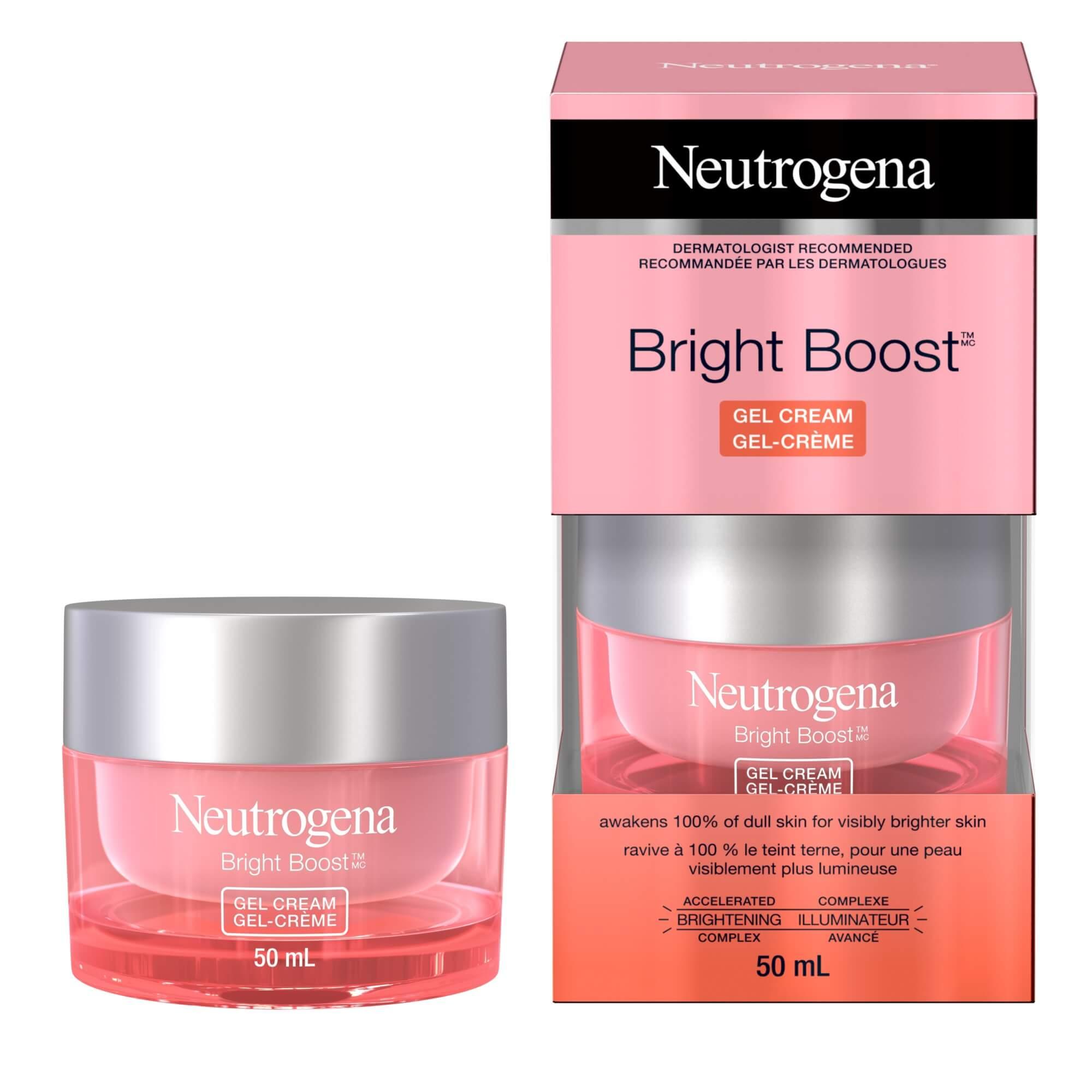Gel-crème Neutrogena Bright BoostMC, 50 ml