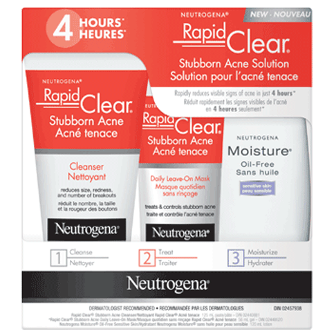 Solution pour l'acné tenace NEUTROGENA® RAPID CLEAR®