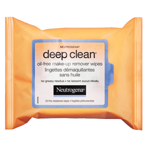 NEUTROGENA® DEEP CLEAN® Oil-Free Make-Up Remover Wipes