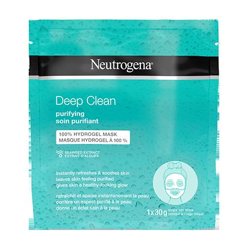 NEUTROGENA DEEP CLEAN® PURIFYING Hydrogel Mask