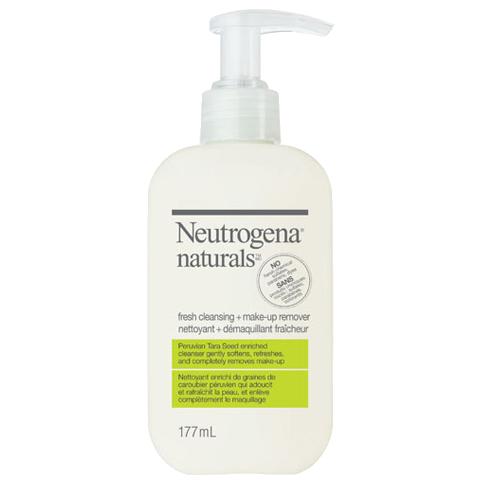 Nettoyant + démaquillant fraîcheur NEUTROGENA NATURALS®