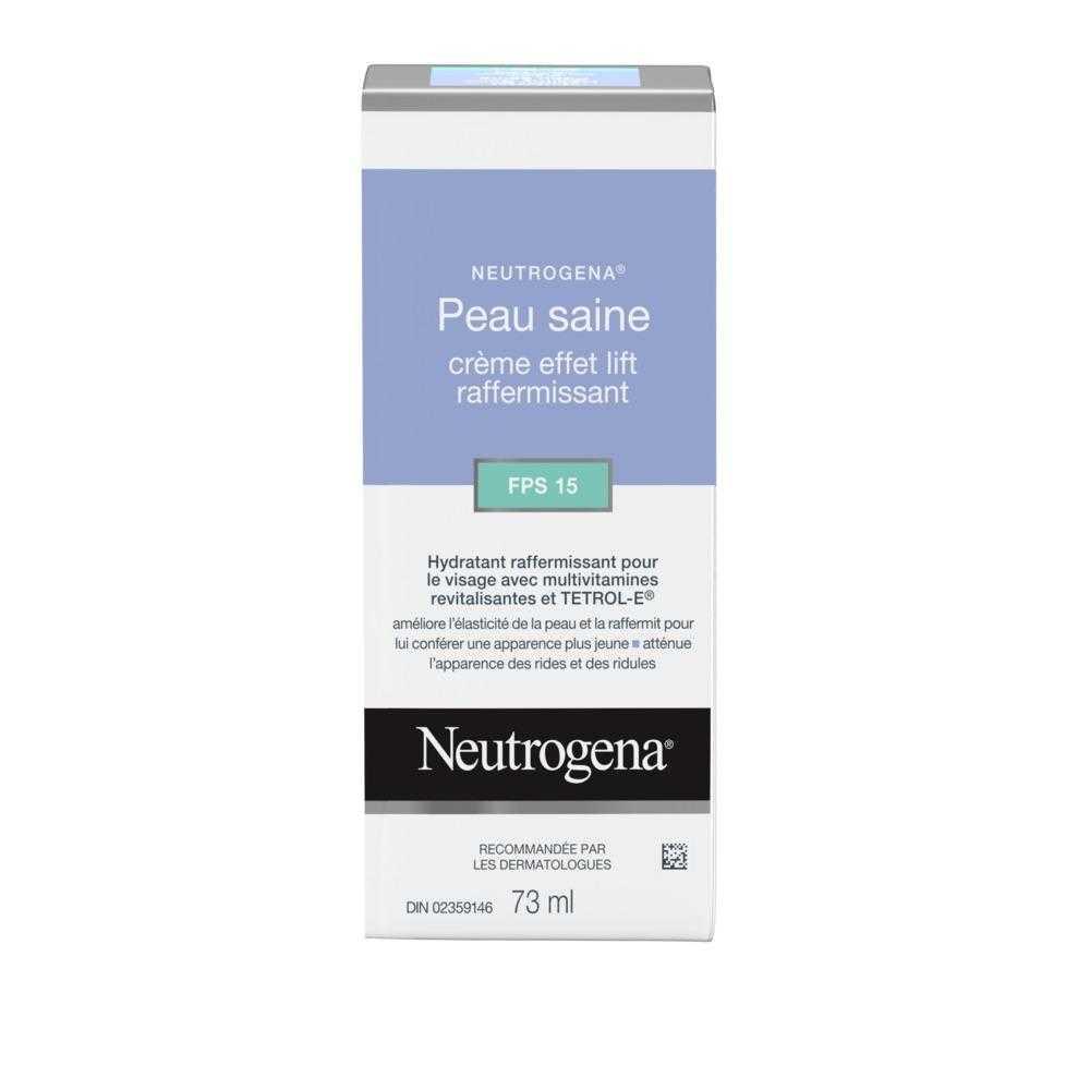 Hydratant NEUTROGENA® Peau saine Effet lift raffermissant FPS 15