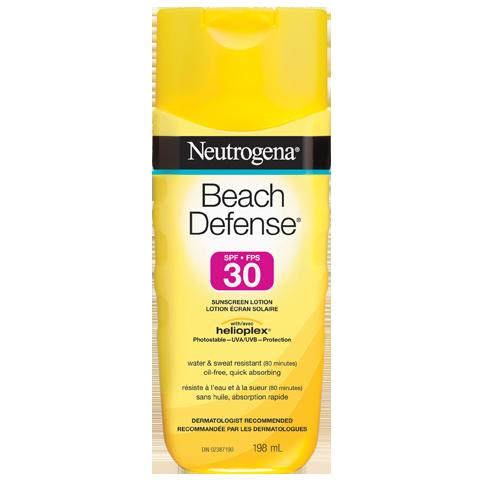 Lotion écran solaire NEUTROGENA® BEACH DEFENSE® FPS 30