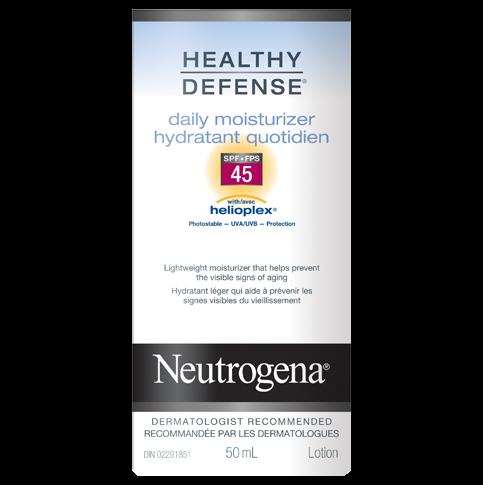 Hydratant quotidien NEUTROGENA® HEALTHY DEFENSE® FPS 45