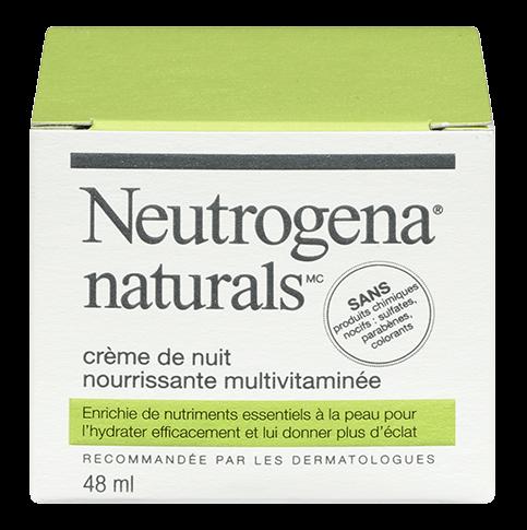 Crème de nuit nourrissante multivitaminée NEUTROGENA NATURALS®
