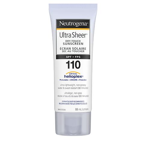 Neutrogena Ultra Sheer Dry Touch SPF 110 Sunscreen Squeeze Bottle, 88ml