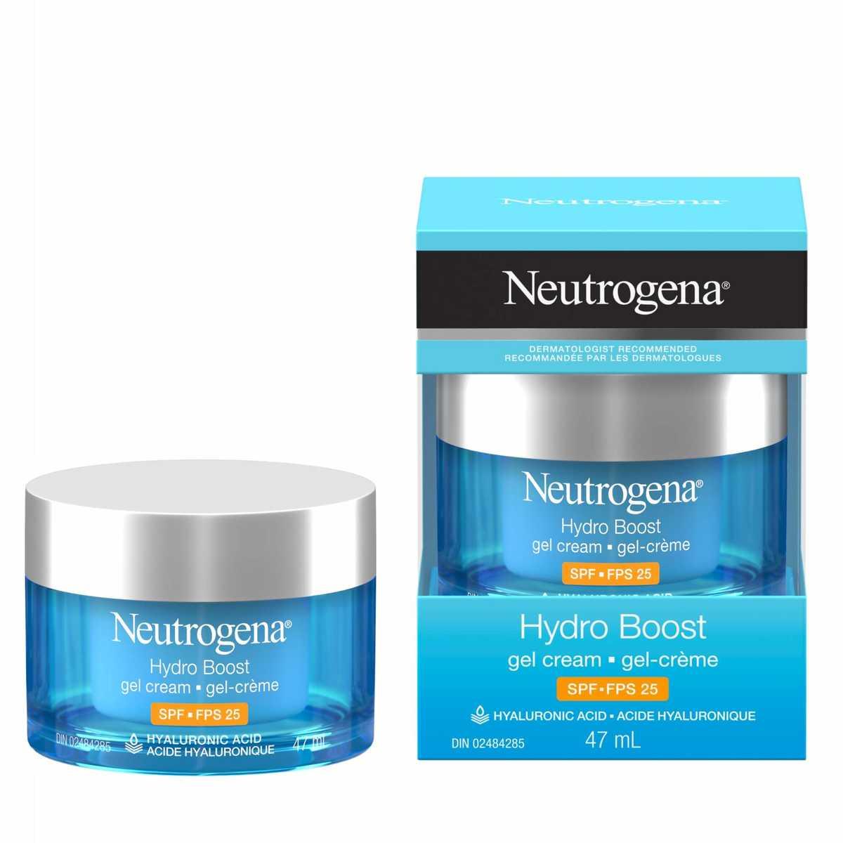 Gel-crème Neutrogena Hydro Boost FPS 25