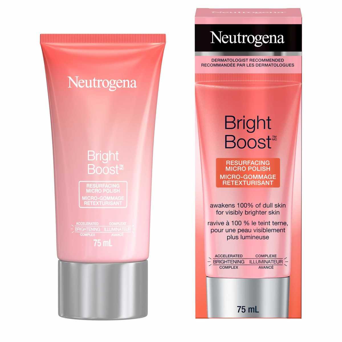 Micro-gommage retexturisant Neutrogena Bright Boost