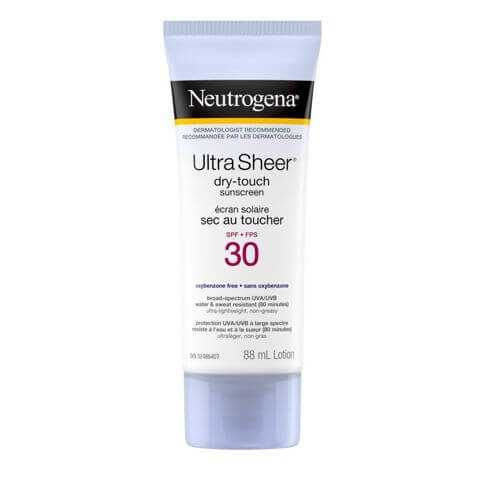 Neutrogena Ultra Sheer Dry Touch SPF 30 Sunscreen Squeeze Bottle, 88ml