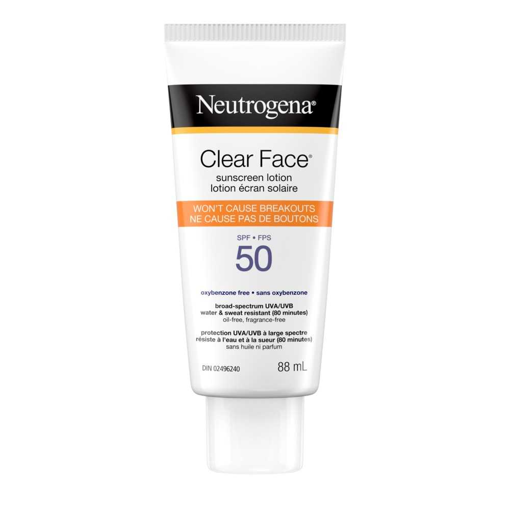 Lotion NEUTROGENA CLEAR FACE® FPS 60
