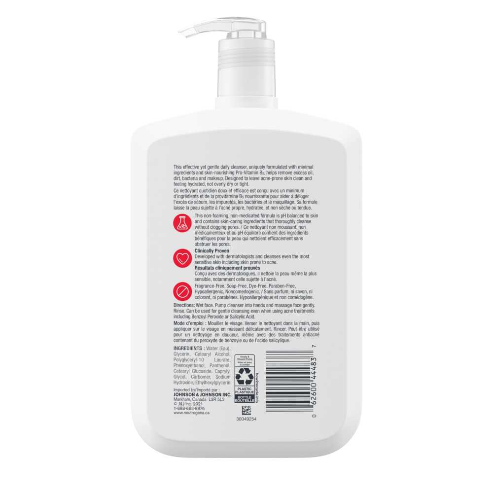 Nettoyant quotidien ultradoux avec provitamine B5 Neutrogena