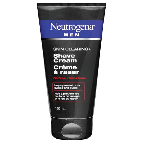Crème à raser NEUTROGENA® MEN® SKIN CLEARING