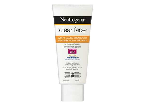 Lotion écran solaire NEUTROGENA CLEAR FACE® FPS 30