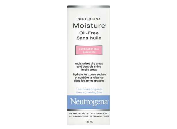 Hydratant NEUTROGENA MOISTURE® sans huile Peau mixte