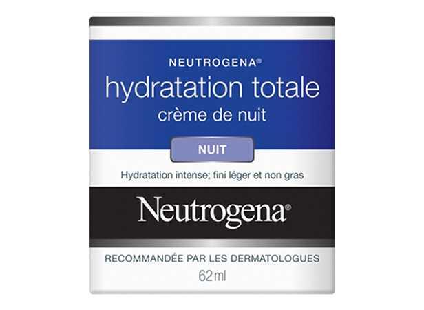 Crème de nuit NEUTROGENA® Hydratation totale