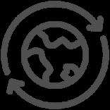 Notre planète - icône de duabilité Johnson & Johnson