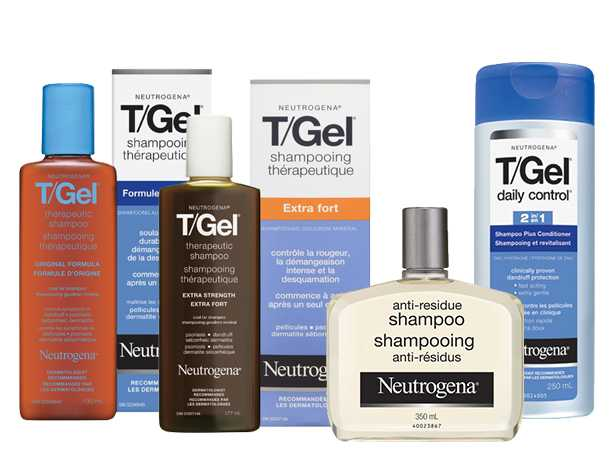 Gamme de produits NEUTROGENA® pour les cheveux