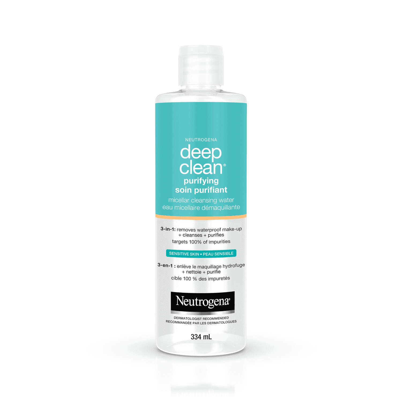 Eau micellaire démaquillante NEUTROGENA Deep Clean® Soin purifiant
