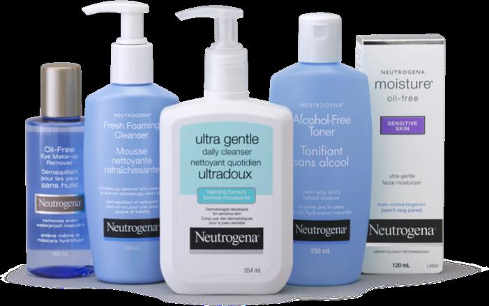 Produits nettoyants pour le visage Neutrogena Douceur essentielle