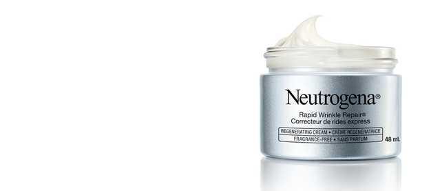 Crème régénératrice Neutrogena Correcteur de rides express pour le visage, antiâge, sans parfum