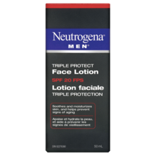 NEUTROGENA® MEN® Triple Protect Face Lotion SPF 20