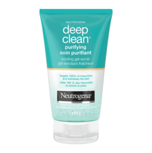 NEUTROGENA Deep Clean® Purifying Cooling Gel Scrub