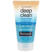 Exfoliant moussant revigorant NEUTROGENA® DEEP CLEAN®