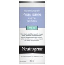 Crème antirides NEUTROGENA® Peau saine FPS 15