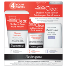 Solution pour l'acné tenace NEUTROGENA RAPID CLEAR®