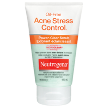 Exfoliant éclaircissant NEUTROGENA® OIL-FREE ACNE STRESS CONTROL®