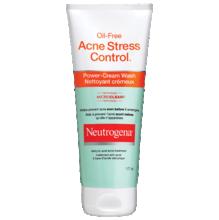 Nettoyant crémeux NEUTROGENA® OIL-FREE ACNE STRESS CONTROL®