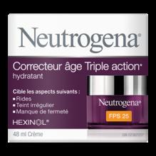 Hydratant NEUTROGENA® Correcteur âge Triple action PFS 25