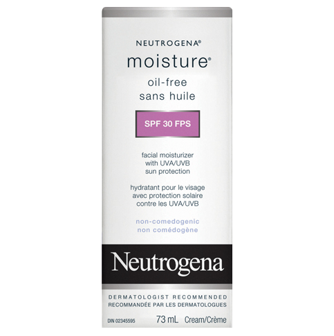 Hydratant sans huile NEUTROGENA® MOISTURE® FPS 30