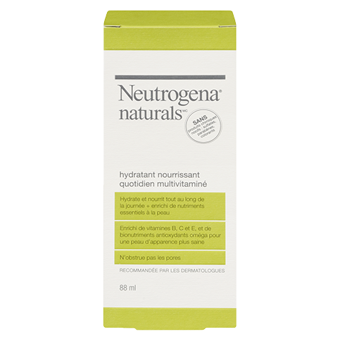 Hydratant nourrissant quotidien multivitaminé NEUTROGENA NATURALS®