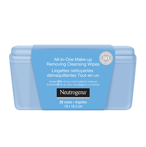 NEUTROGENA ® All-in-One Make-up Removing Cleansing Wipes Vanity