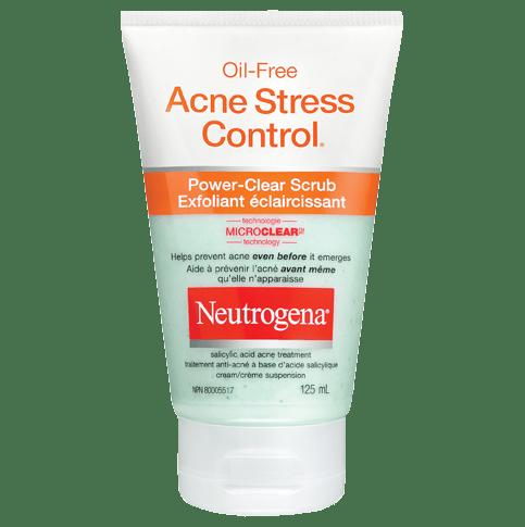 Exfoliant éclaircissant NEUTROGENA® OIL-FREE ACNE STRESS CONTROL®