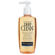 Nettoyant facial NEUTROGENA® DEEP CLEAN®