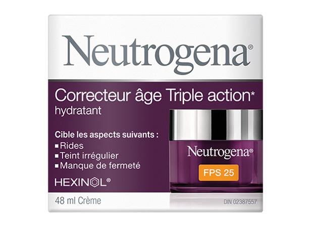 Hydratant NEUTROGENA® Correcteur âge Triple action Nuit