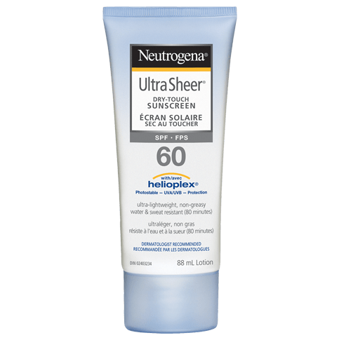 Lotion NEUTROGENA® ULTRA SHEER® Sec au toucher FPS 60